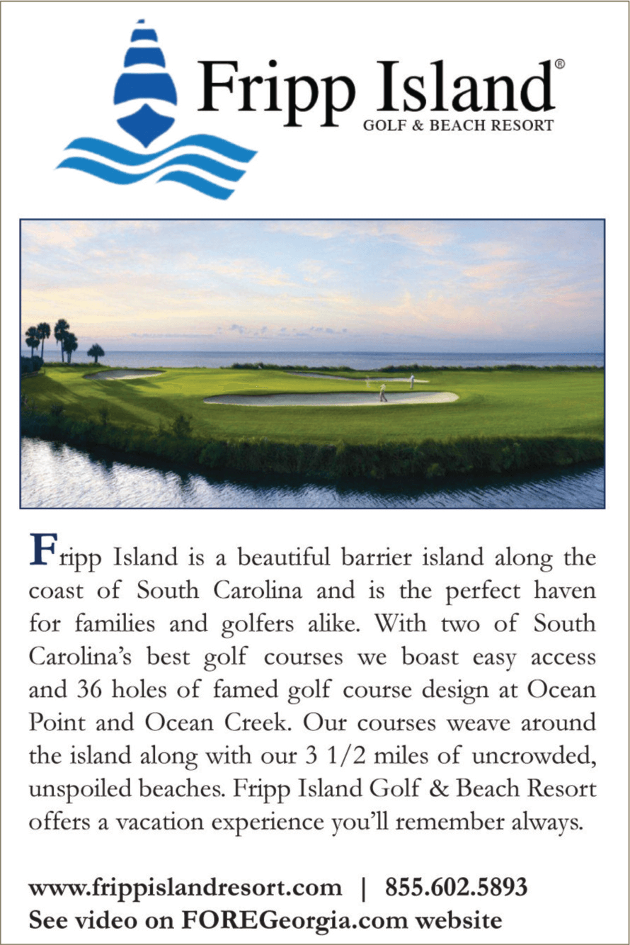 Fripp Island Golf Resort Stay and Play Packages