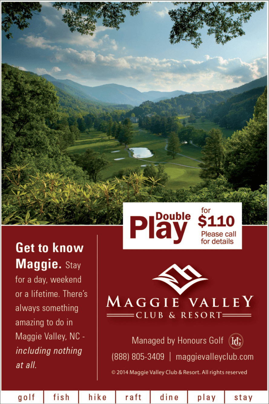 Maggie Valley Stay and Play Packages