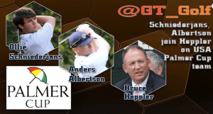 Albertson and Schniederjans Named to U.S. Palmer Cup Team