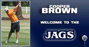 GRU Augusta Men's Golf Signs Cooper Brown For 2015-16