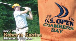 Castro Grabs Berth in U.S. Open Field