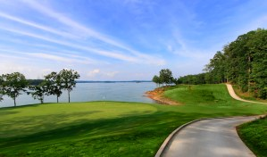 Legacy on Lanier offers beauty, challenge; Entertaining layout not long, but not easy