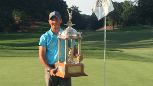 Charles Huntzinger Takes Dogwood Title by 1 Shot