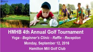 Fourth Annual HMHB of Georgia Golf Tournament