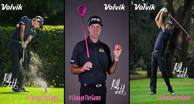 Volvik Inks Bubba Watson to Play Different Color Golf Balls on PGA TOUR