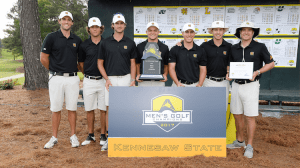 Kennesaw State Men's Golf Claims Second Straight ASUN Conference Championships