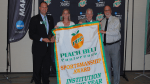 Bobcat Athletics Wins PBC Institution of the Year Sportsmanship Award