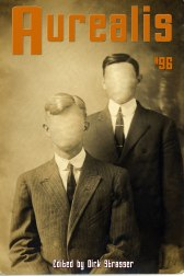 Cover of Aurealis #96 features two faceless men