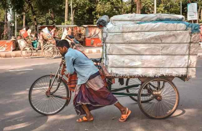 Trishaw in Bangladesh