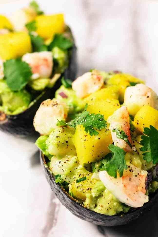 Tropical Stuffed Avocados