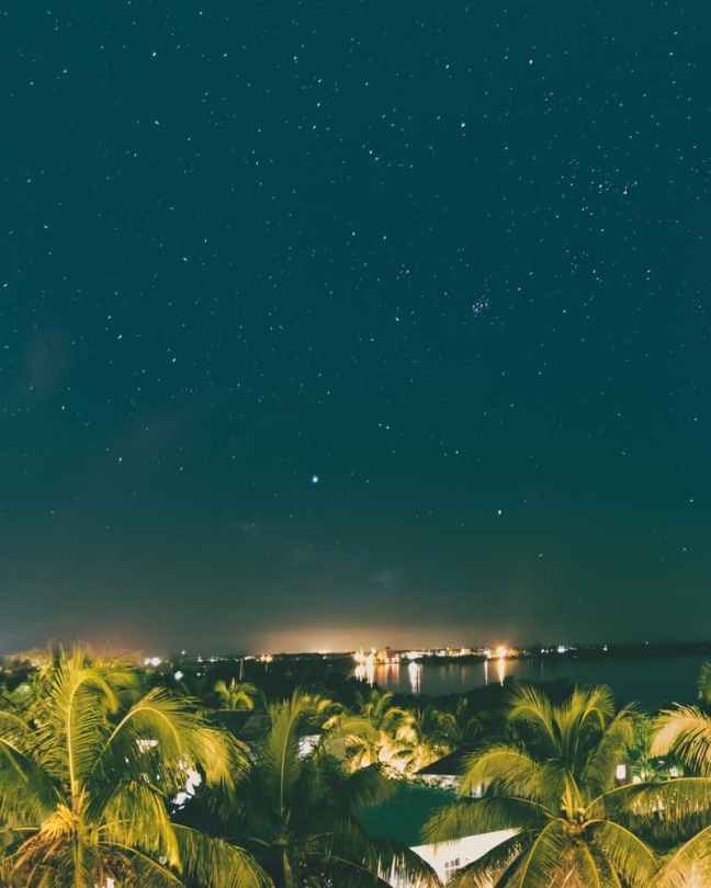 San Pedro Night Sky in Belize