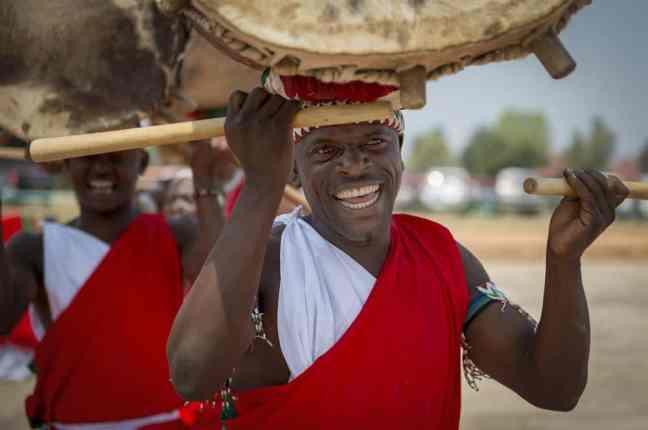 Happy Burundian