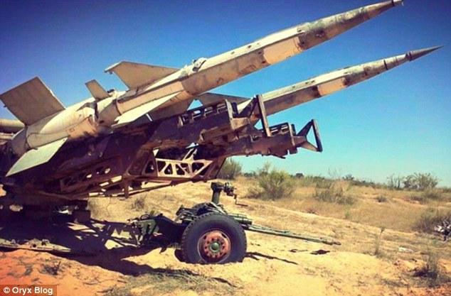 ИДИЛ извършва първия опит на ракета земя – въздух