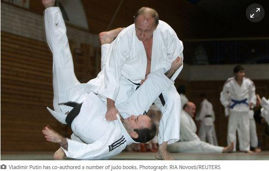Putin judo book to be distributed to millions of Russian schoolchildren