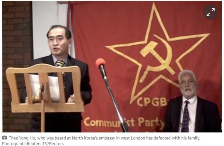 High-ranking North Korean diplomat in London defects to South Korea