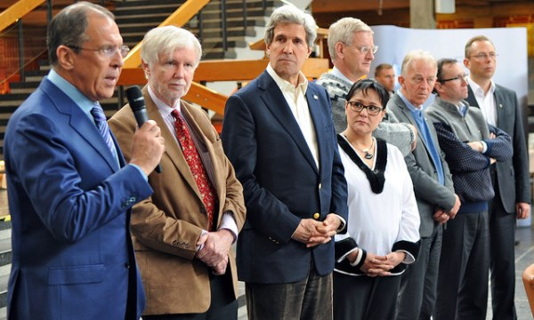 Closing the meeting in Kiruna. Photo: U.S. Government Work.