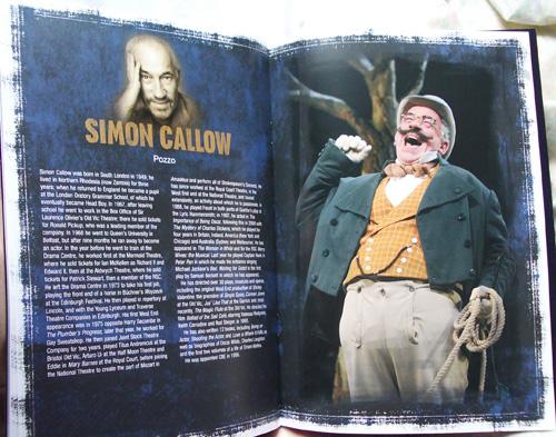 Simon Callow on Pozzo.