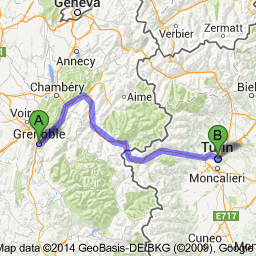 blog map grenoble to turin