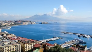 naples panoramic view