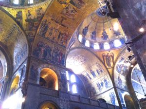 Interior Basillica di San Marco