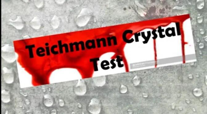 Teichmann Crystal Test
