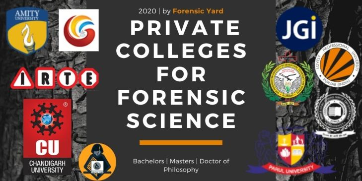 Top Forensic science private colleges