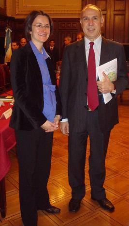 Gisela y Lorenzetti