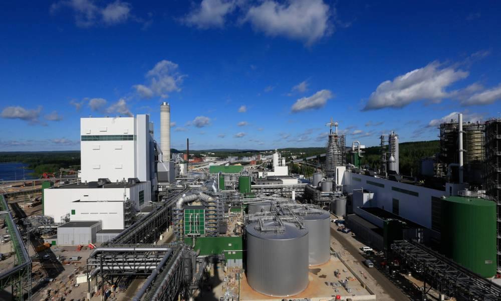 Finland's Metsa starts new 1.2 billion EUR bioproduct mill