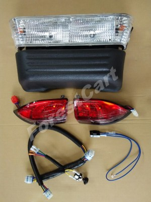 Club Car Precedent Light Kit, Halogen Headlight & LED