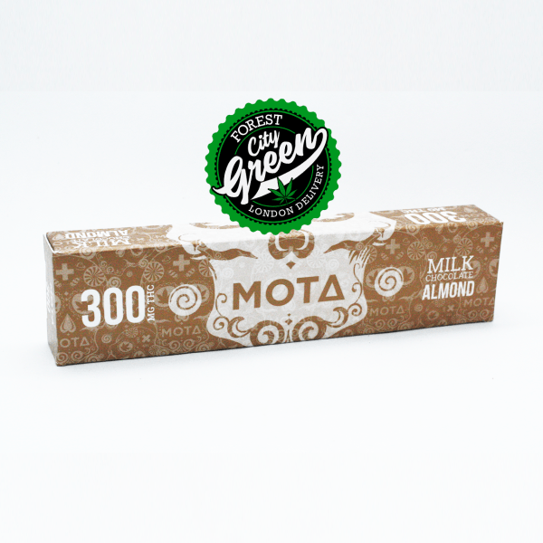 MOTA Almond Milk Chocolate Bar (300mg THC)