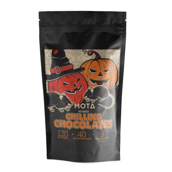 Mota Chilling Chocolates (120mg THC)