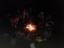 Campfire with music and song ...