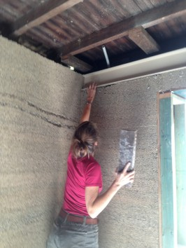 Fix #1: Filling all holes and gaps with hemp mix