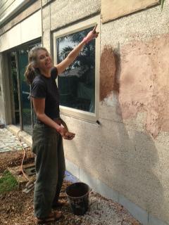 Mistake #5: Kookaburra hole covered in wood panel before fixing