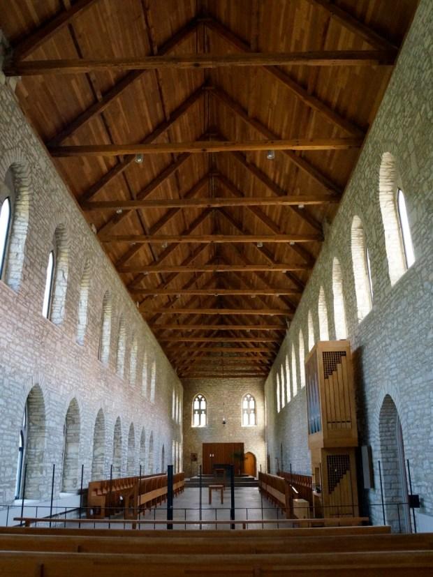 New Melleray Abbey Chapel, Dubuque, Iowa. Photo by William Cronon.