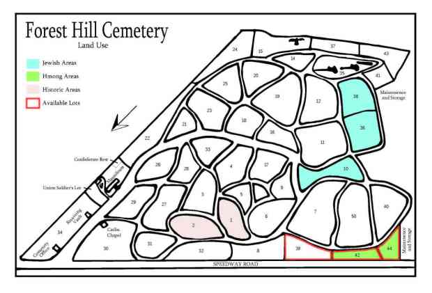 Forest Hill Land Use Map