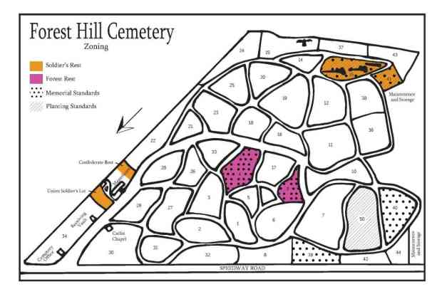 Forest Hill Zoning Map