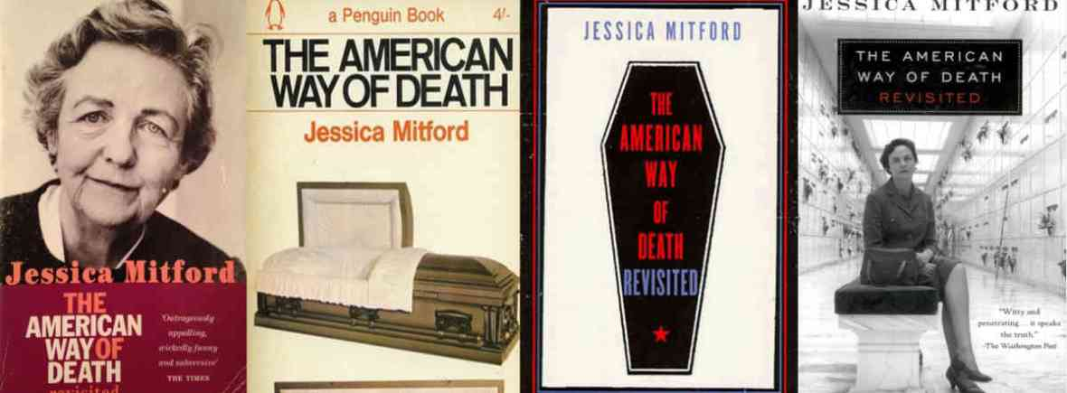 Mitford covers collage