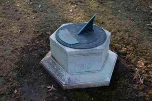 Leander Ferguson Sundial Grave