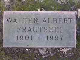 Walter Albert Frautschi