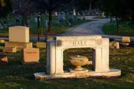 Hall Urn Grave