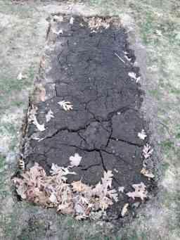 Recently Dug Grave