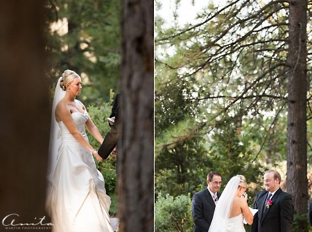 wedding vows at foresthill