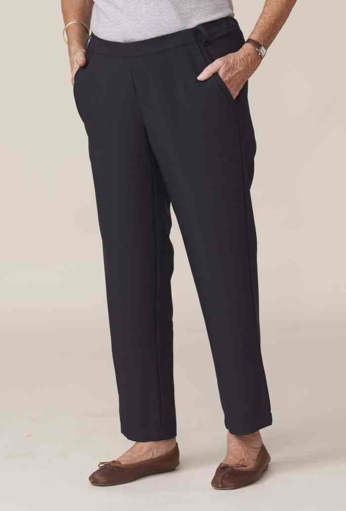 pantalon marine adapté pour personne dépendante