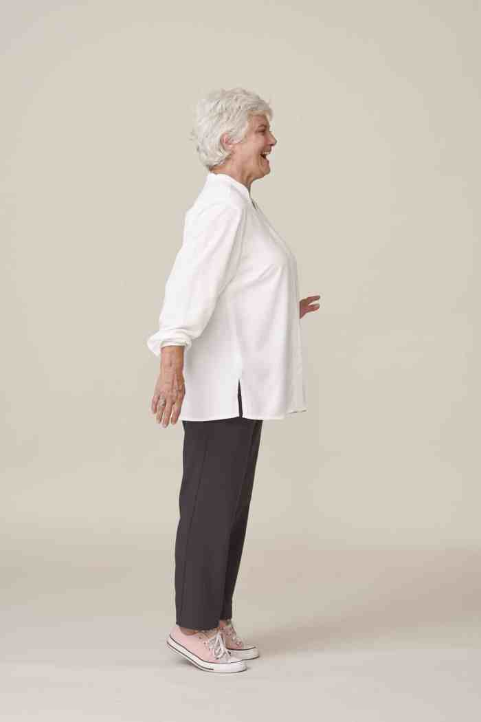 vetements adaptes personnes âgées élégants et chics