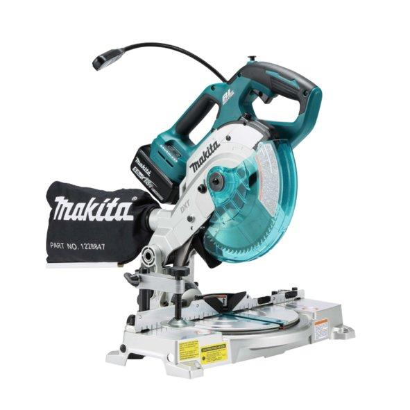 Makita Fierăstrău de masă pentru tăieri înclinate compatibil cu acumulatori Li-Ion LXT 18V DLS600Z - ForeStore