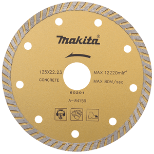 Makita A-84115 - DISC DIAMANTAT 125MM BETON MARMURĂ S.NORMAL - ForeStore