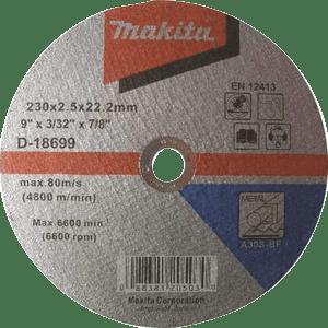 Makita D-18699 - DISC TĂIERE METAL 230X2
