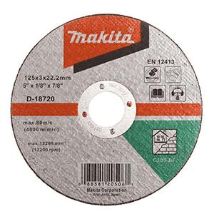 Makita D-18720 - DISC TAIERE PIATRA 125X3X22.23 #C30S - ForeStore