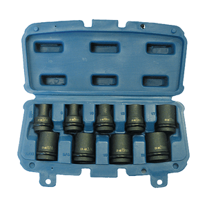 Makita P-46953 - SET 9 CHEI TUBULARE - ForeStore